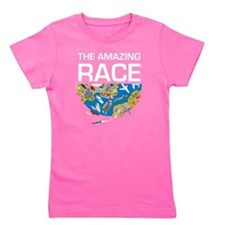The Amazing Race Transportation Girl's Tee