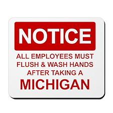 Flush Michigan Mousepad