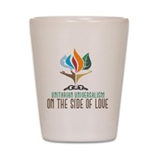UU On the Side of Love Shot Glass
