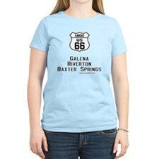 US Route 66 Kansas Cities T-Shirt