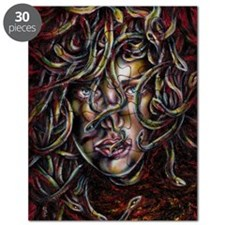 Medusa No.Three Framed Print Puzzle