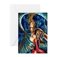 12 signs series Pisces Framed Print Greeting Card