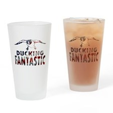 DUCK HUNTER USA Drinking Glass