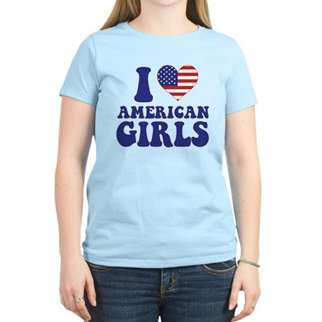 Love American Girls Women's Light T-Shirt