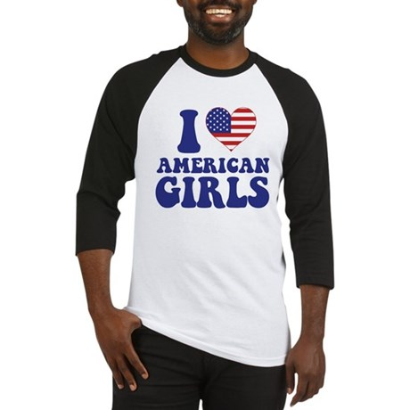 Love American Girls Baseball Jersey