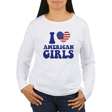 Love American Girls Women's Long Sleeve T-Shirt