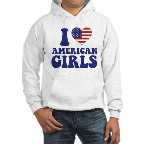 Love American Girls Hooded Sweatshirt