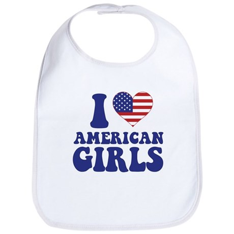 Love American Girls Bib