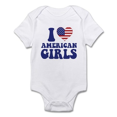 Love American Girls Infant Bodysuit