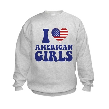 Love American Girls Kids Sweatshirt