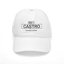 USA - STREET SIGNS - SAN FRANCISCO - CASTRO Baseball Cap