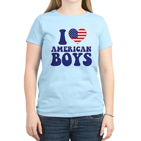 Love American Boys Women's Light T-Shirt