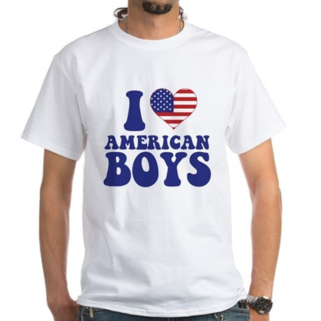 Love American Boys White T-Shirt