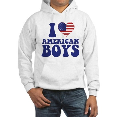 Love American Boys Hooded Sweatshirt