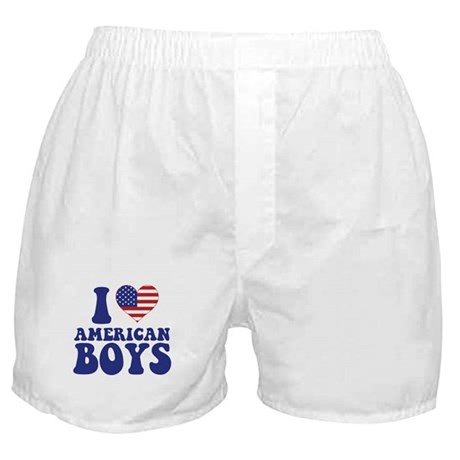 Love American  Boys Boxer Shorts