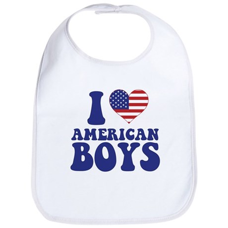 Love American Boys Bib