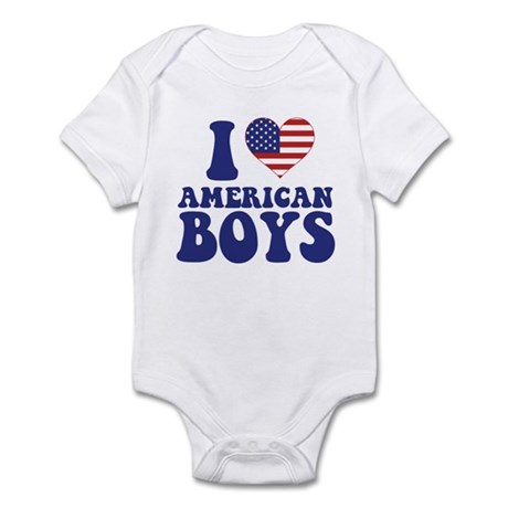 Love American Boys Infant Bodysuit