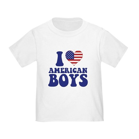 Love American Boys Toddler T-Shirt