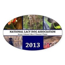 2013 Lacy Dog Wall Calendar Decal