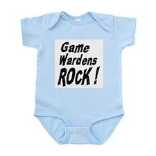 Game Wardens Rock ! Infant Bodysuit