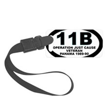 11B Operation Just Cause Veteran Luggage Tag