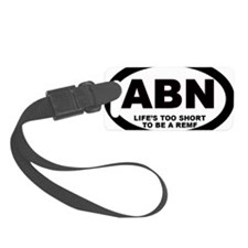 Airborne - Lifes to Short to be  Luggage Tag
