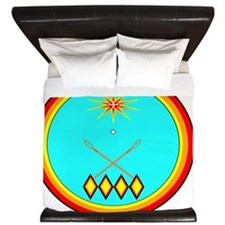 CHOCTAW King Duvet