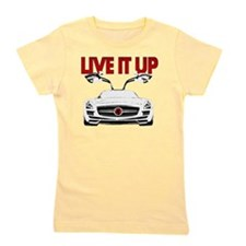 SLS AMG Supercar LIVE IT UP Girl's Tee