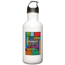 PHARMACIST ABSTRACT Water Bottle