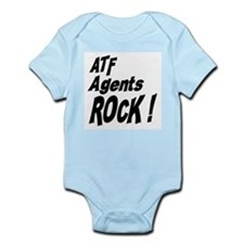 ATF Agents Rock ! Onesie
