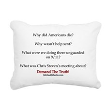 Benghazi Questions Rectangular Canvas Pillow
