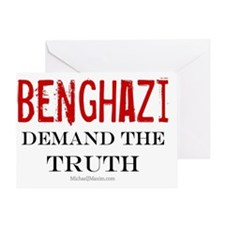 Benghazi Truth large Greeting Card