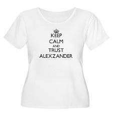 Keep Calm and TRUST Alexzander Plus Size T-Shirt
