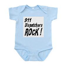 911 Dispatchers Rock ! Onesie