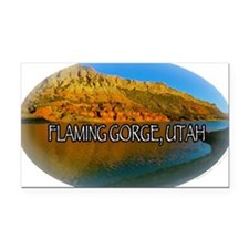 FLAMING GORGE, UTAH Rectangle Car Magnet