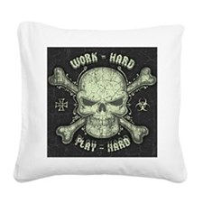 meany-dist-LG Square Canvas Pillow