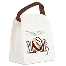Puggle Mom Canvas Lunch Bag
