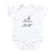 Ventriloquist/Dummy (Left) Infant Bodysuit