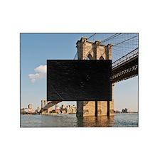 Brooklyn Bridge seen in lower Manhat Picture Frame