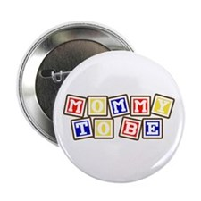 "Mommy To Be 2.25"" Button (100 pack)"