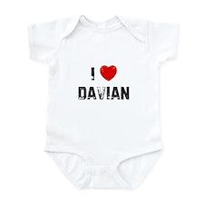 I * Davian Infant Bodysuit