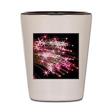 Fiber optic cables Shot Glass