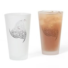 odins horns copy Drinking Glass