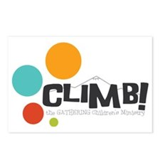 Climb Postcards (Package of 8)