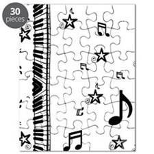 Piano Music Notes Puzzle