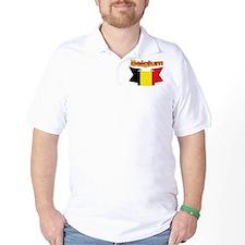 The Belgian flag ribbon T-Shirt