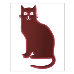 Magenta Cat Posters