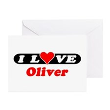 I Love Oliver Greeting Cards (Pk of 10)