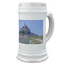 Mont-Saint-Michel, Normandy, France Stein