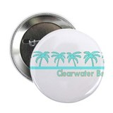 "Clearwater Beach, Florida 2.25"" Button (10 pack)"